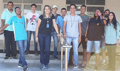 Estudantes do SENAC visitam Instituto Agronelli